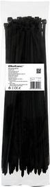 Qoltec Zippers Nylon UV 7.2x350mm 50pcs. Black