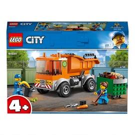 Конструктор LEGO City Мусоровоз 60220, 90 шт.