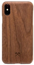 Woodcessories Slim Back Case For Apple iPhone XS Max Walnut