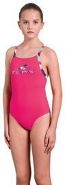 Peldkostīms Aquafeel Girl Swim Suit 25526 01 Pink 164