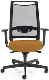 Halmar Bravo Office Chair C-11 Black/Mustard