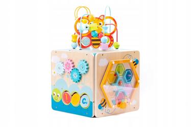 Izglītojošās rotaļlietas Iwood Multi Activity Box Bee, 2 gab.