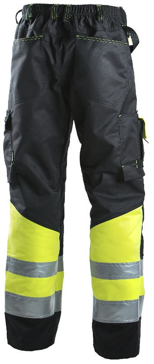 Dimex 698 Pants Black/Yellow 54