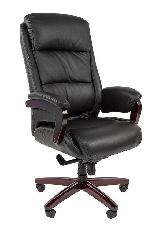 Chairman 404 Leather Black