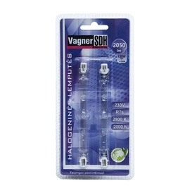 Halogeninė lempa Vagner SDH T12, 120W, R7s, 2800K, 2220lm, 2vnt.