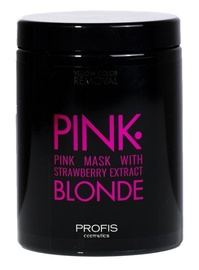 Profis Pink Blonde Mask With Strawberry Extract 1000ml