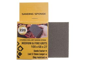 Šlifavimo kempinė Forte Tools, NR220, 100x68x27 mm, 1 vnt.