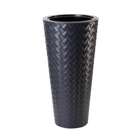 Вазон Form Plastic Makata Slim 2830-014, черный