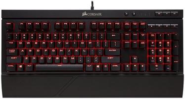 Klaviatuur Corsair CH-9102020-NA Cherry MX Red EN, must