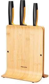 Kööginugade komplekt Fiskars Functional Form Bamboo Knife Set, 4 tk