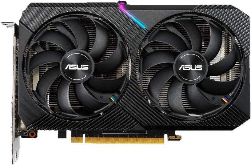 Asus Dual GeForce GTX 1660 Super Mini OC Edition 6GB GDDR6 PCIE DUAL-GTX1660S-O6G-MINI