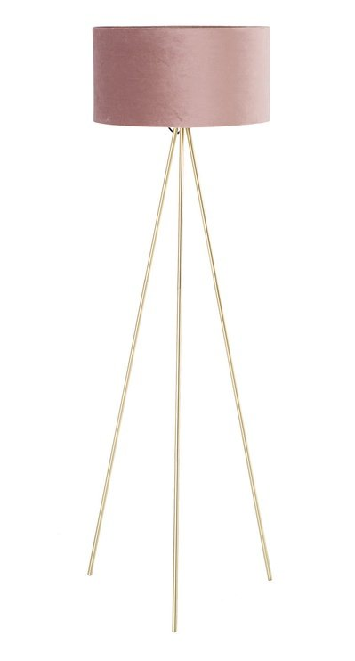 Home4you Trinity Floor Lamp E27 40W Pink/Gold