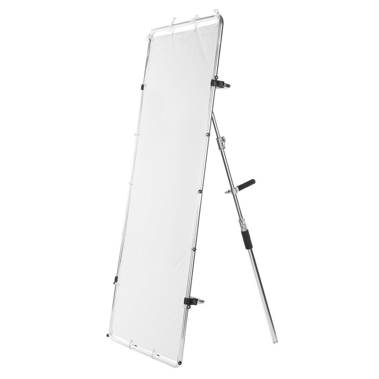 Quadralite 100x200cm Reflector With Frame Steel