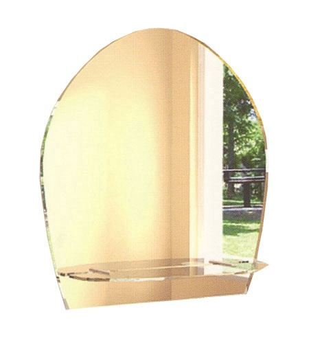 Veidrodis Stiklita GVEID 2002LM, kabinamas, 47x50 cm