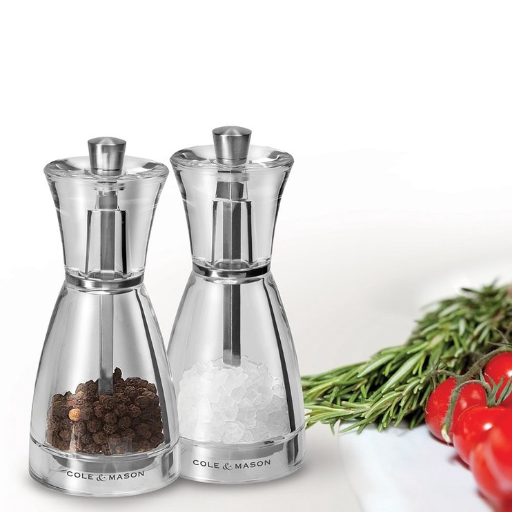Cole and Mason Precision Pina Acrylic Pepper Mill 125mm