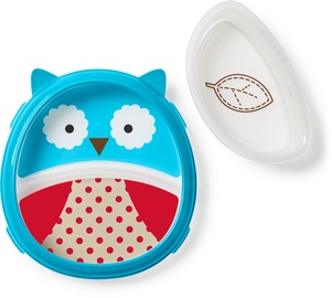 SkipHop Zoo Smart Serve Plate & Bowl Owl