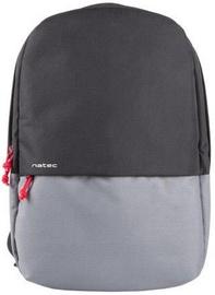 """Natec Gaur Laptop Backpack 15.6"""" Black/Grey"""