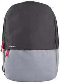 "Natec Gaur Laptop Backpack 15.6"" Black/Grey"