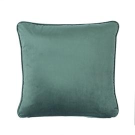 Home4you Velvet Pillow 45x45cm Dark Green