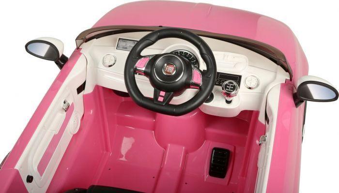 Bezvadu automašīna Chi Lok Bo Fiat 500 Pink