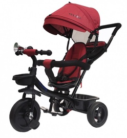 Tesoro BT-13 Baby Tricycle Black Red