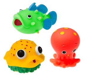 Tullo Rubber Sea Creatures For Bathing 3pcs 503