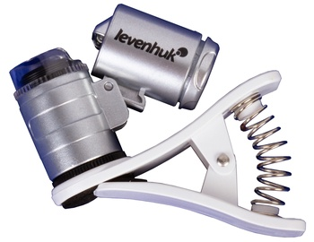 Levenhuk Zeno Cash ZC4 Pocket Microscope Silver