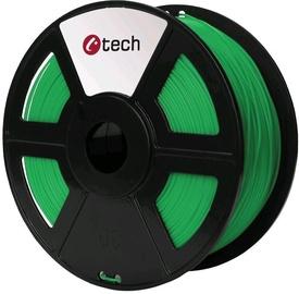 Расходные материалы для 3D принтера C-Tech 3DF-PLA, 330 м, зеленый