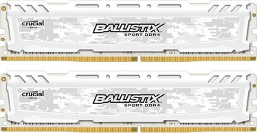 Ballistix Sport LT White 16GB 2400MHz DDR4 CL16 KIT OF 2 BLS2K8G4D240FSC