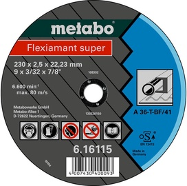 Metabo Flexiamant Super 230x2.5x22.23mm Steel TF 41