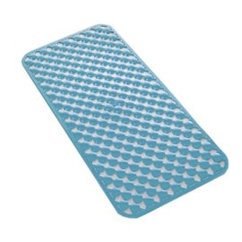 Neslystantis vonios kilimėlis Gedy Geo 973671/11, mėlynas, 36 x 71 cm