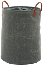 Aquanova York Laundry Basket 76l Dark Green