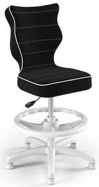 Krēsls Entelo Petit Black HC+F Size 4 Children Chair JS01 White/Black