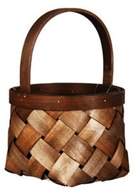 Verners Wood Basket 17x25