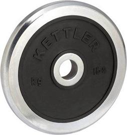 Kettler Chrom Hantelscheibe 15 Silver