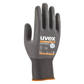 Uvex Universal Work Gloves 10cm Grey