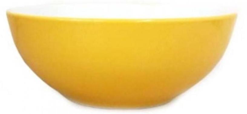 Cesiro Bowl 15cm Yellow/White