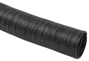 Techflex F6 Woven Wrap Sleeve 25.4mm Black 1m