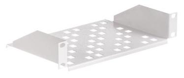 Riiul Netrack Equipment Shelf 10'' 1U/150mm Grey