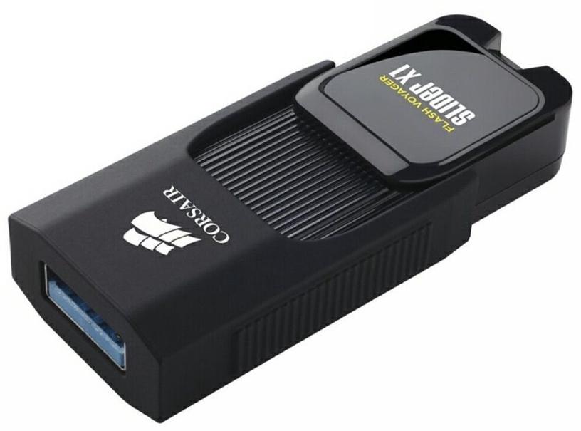 USB atmintinė Corsair Voyager Slider X1, USB 3.0, 64 GB
