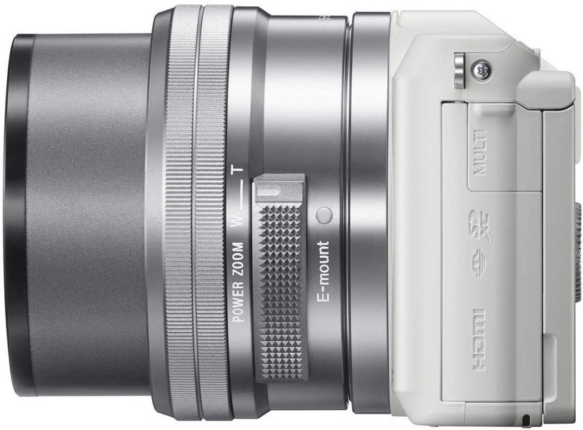 Sony Alpha A5100 White Dual Lens 16-50mm / 55-210mm Kit