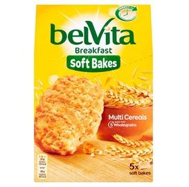 Sausainiai BELVITA minkšti, su visų grūdo dalių produktais, su vitaminu B6 ir magniu, 250 g