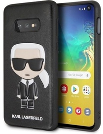 Karl Lagerfeld Iconic Karl Back Case For Samsung Galaxy S10e Black