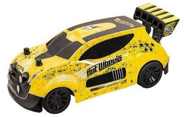 Mondo Motors Hot Wheels Radio Control Fast 4WD Yellow