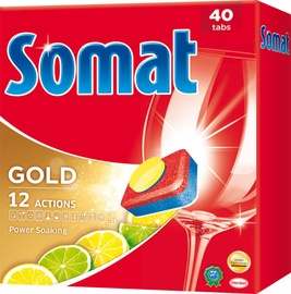 Somat Gold Lemon & Lime Tablets 40pcs