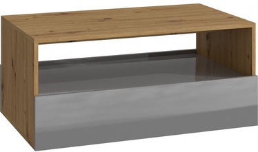 Kohvilaud Top E Shop Rebel Artisan Oak/Graphite Gloss, 900x540x400 mm