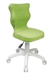 Bērnu krēsls Entelo Petit VS05 Green/White, 335x300x775 mm