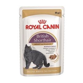 Konservuotas ėdalas katėms, Royal Canin British Shorthair Adult, 85 g