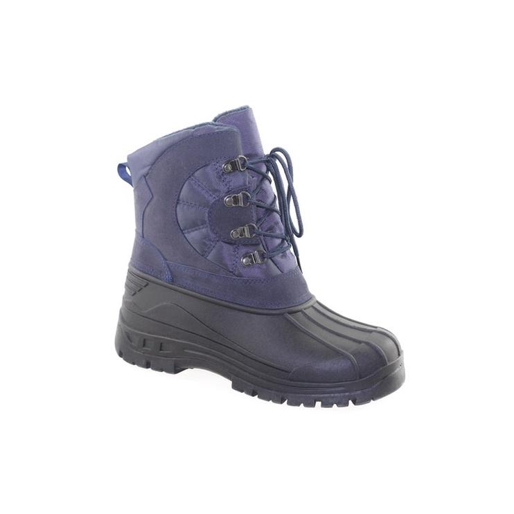 SN Men's Snow Boots Blue Black 44