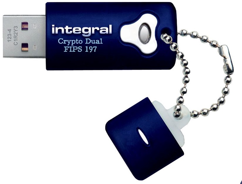 Integral Crypto Dual Fips 197 Encrypted 8GB